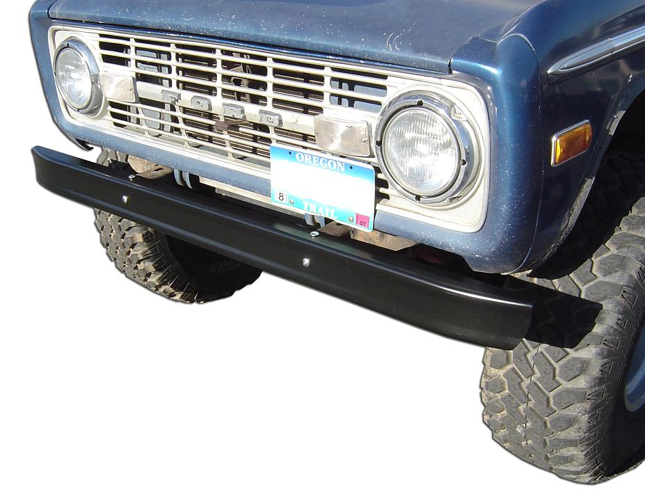 Stock Black Bumper, Front or Rear, OE Quality